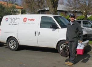Sacramento HVAC Repair Man