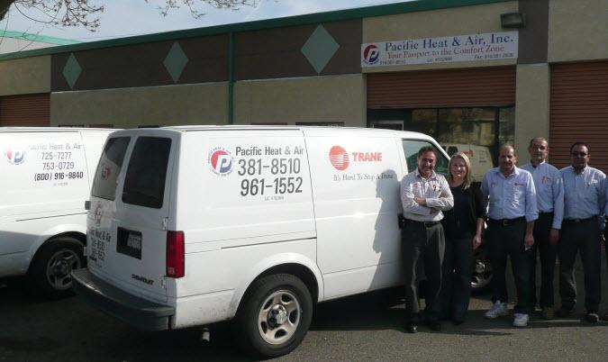 HVAC Repair Contractors Sacramento, CA   Pacific Heat & Air, Inc